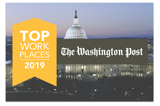2019 Top Places to Work by Washington Post