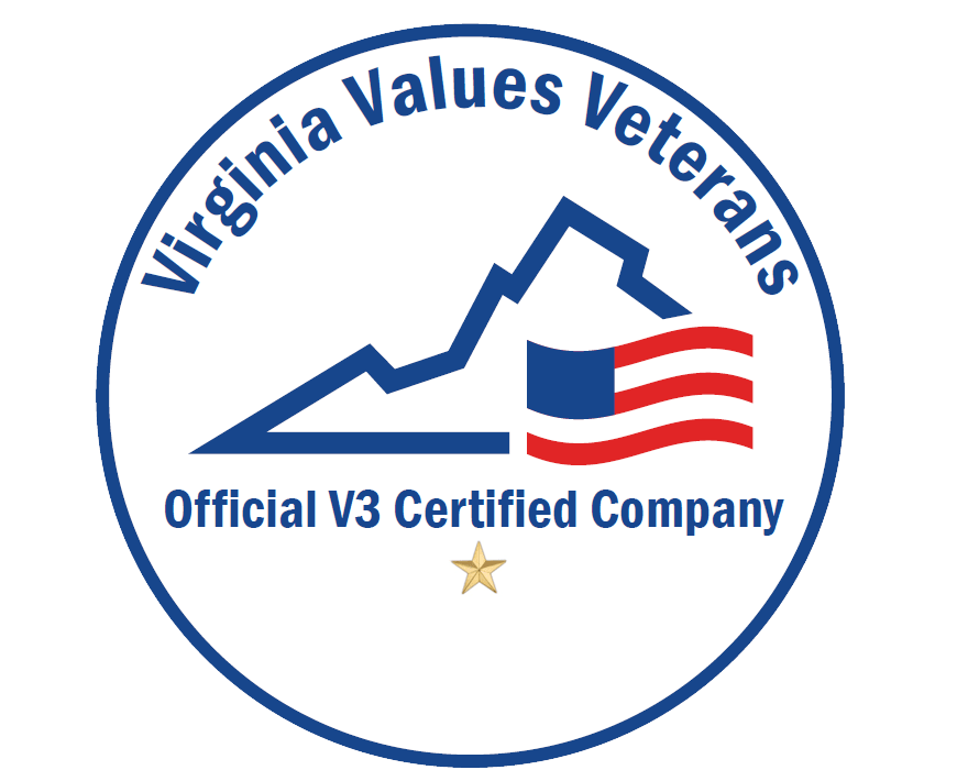 Official V3 certified company logo