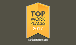 Washington Post 2017 Top Work Places Logo